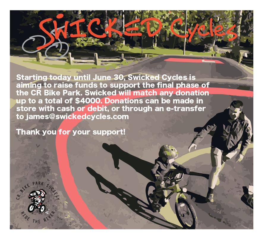 Swicked Bike Park Fundraiser