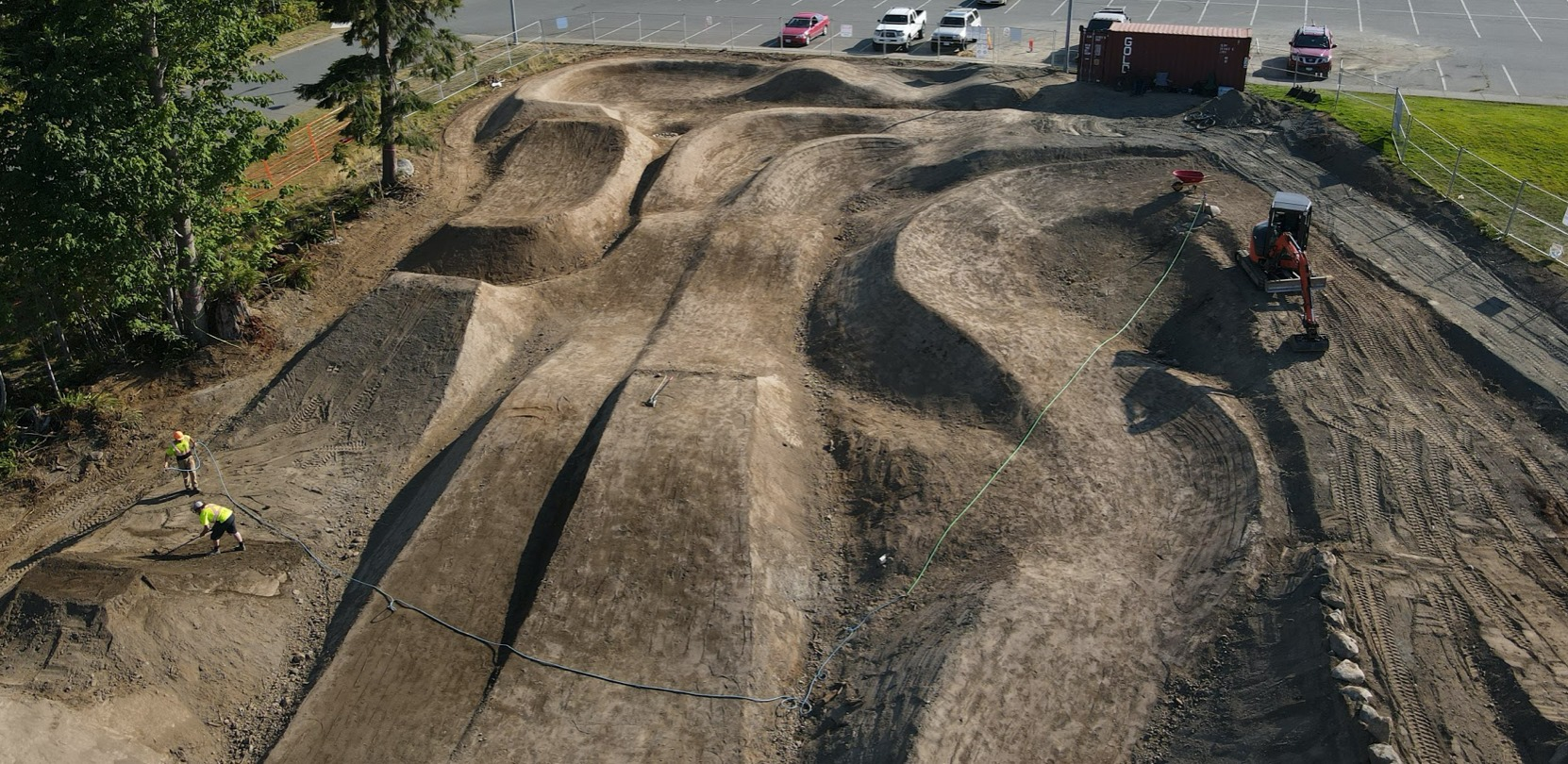 CR Bike Park Drone Image